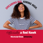 Dreaming Big. Aiming High. Officially a Red Hawk