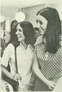 1971 students laughing