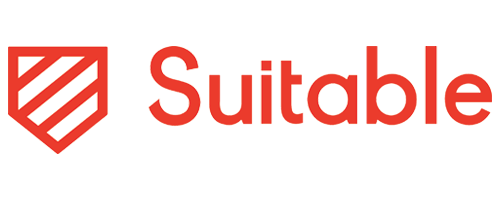 The logo for Suitable.