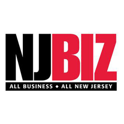 The logo for NJBiz with the tagline All Business All New Jersey.