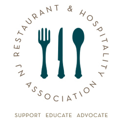 The logo for the New Jersey Restaurant and Hospitality Association.