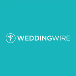 The logo for the company Wedding Wire.