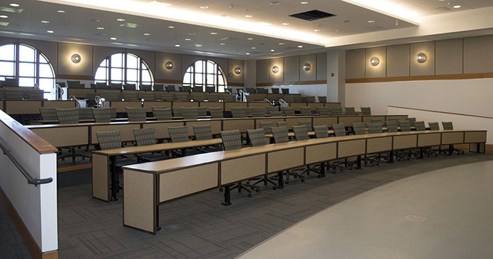 lecture hall completed