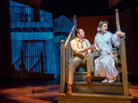 Photo of a scene from Streetcar Named Desire.