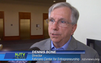 photo of Dennis Bone on NJTV.