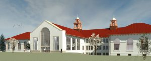 College Hall Rendering