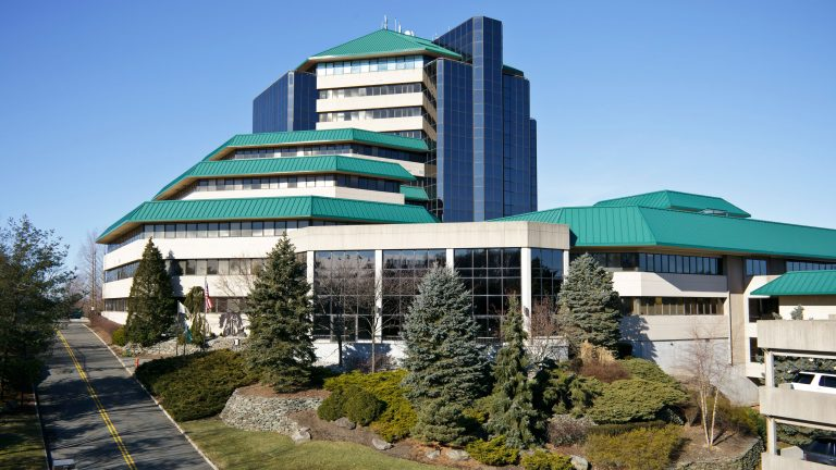 Photo of Overlook Corporate Center building and landscaping