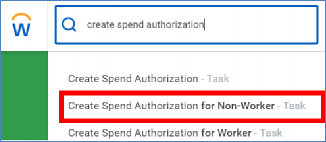 spend authorization for nonworker