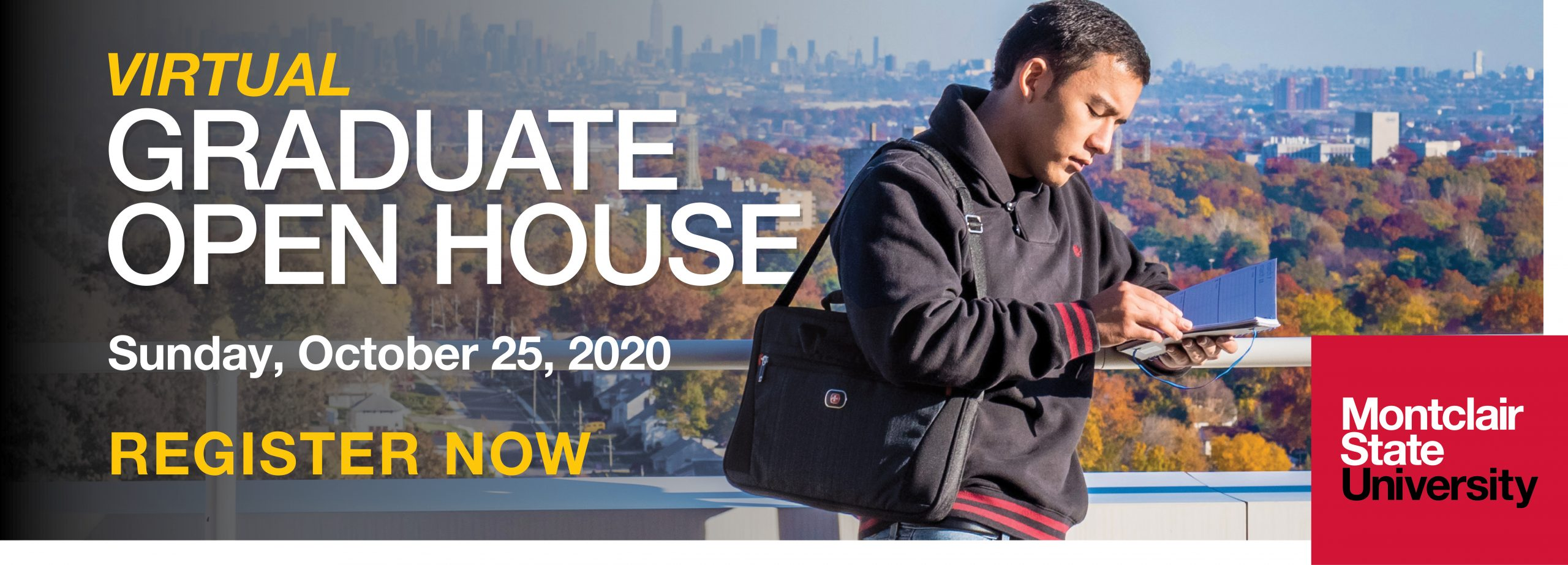 Fall 2020 Virtual Graduate Open House at Montclair State