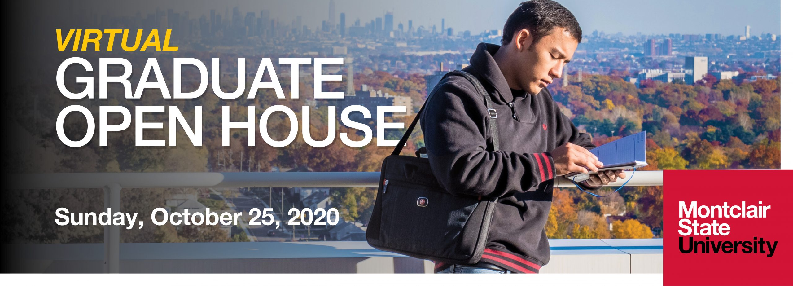 Virtual Graduate Open House Montclair State Fall 2020