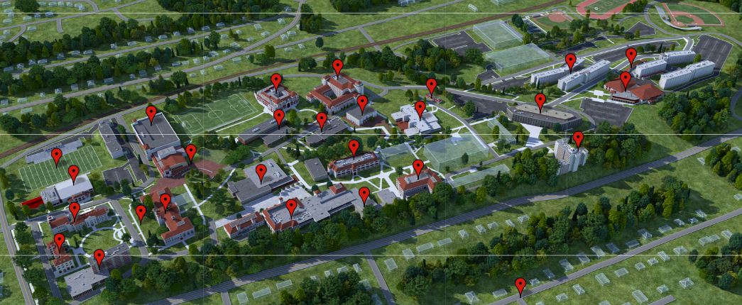 Interactive Campus Map - Montclair State