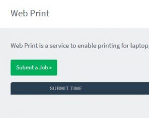 Submit a job button