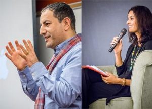 Jhumpa Lahiri and Amara Lakhous