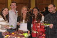 Image of students at an event