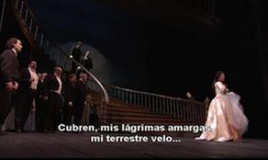 Opera with Spanish subtitles