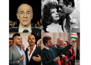Italian Cinema Collage