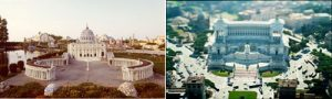 Photos of Italian landmarks
