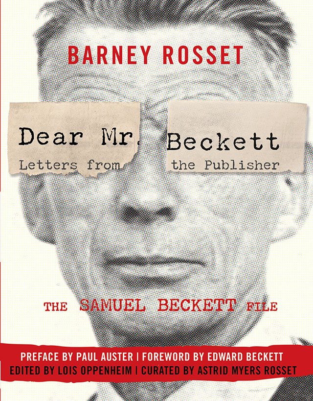 Cover of Dear Mr. Beckett – Letters from the Publisher: The Samuel Beckett File, a book edited by Lois Oppenheim, professor of French and chair of Montclair State's Department of Modern Languages and Literatures.