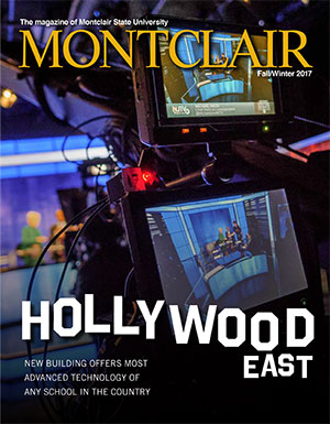 Cover of the Fall/Winter 2017 issue of Montclair magazine.