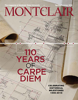 Cover of the Spring 2018 issue of Montclair Magazine