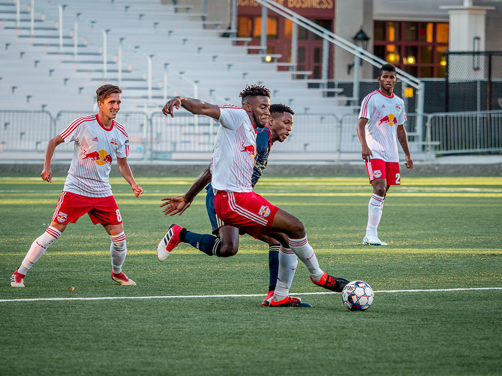 On the field, the Red Bulls II take on Bethlehem Steel in mid-summer action.