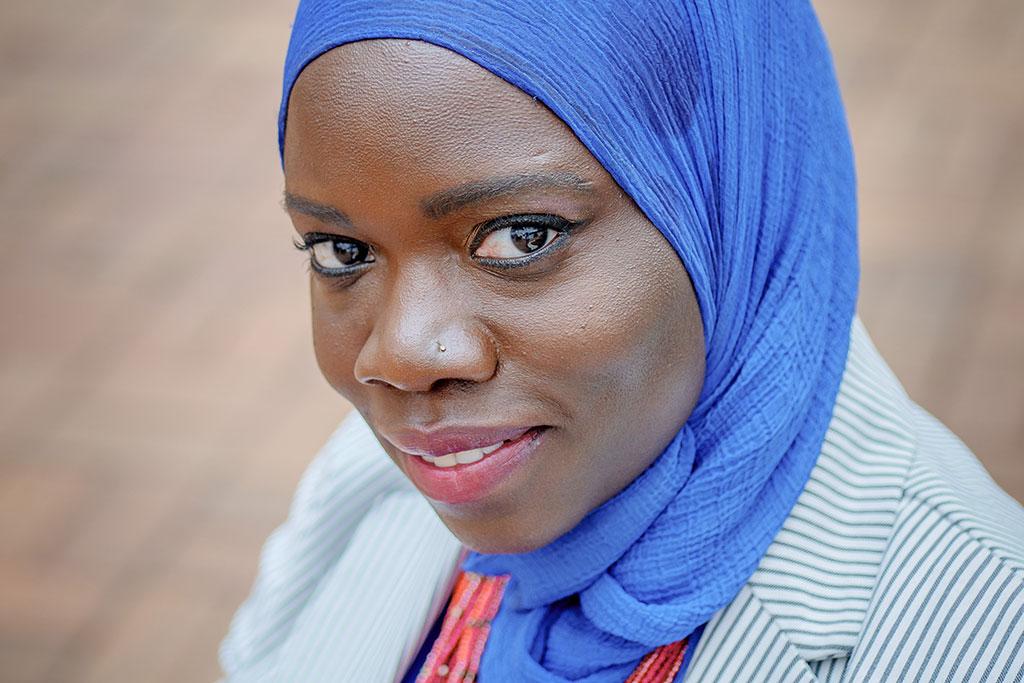 Nubia Lumumba, Patterson scholarship recipient