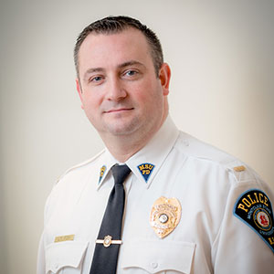 Montclair State University Police Lieutenant Timothy Fox