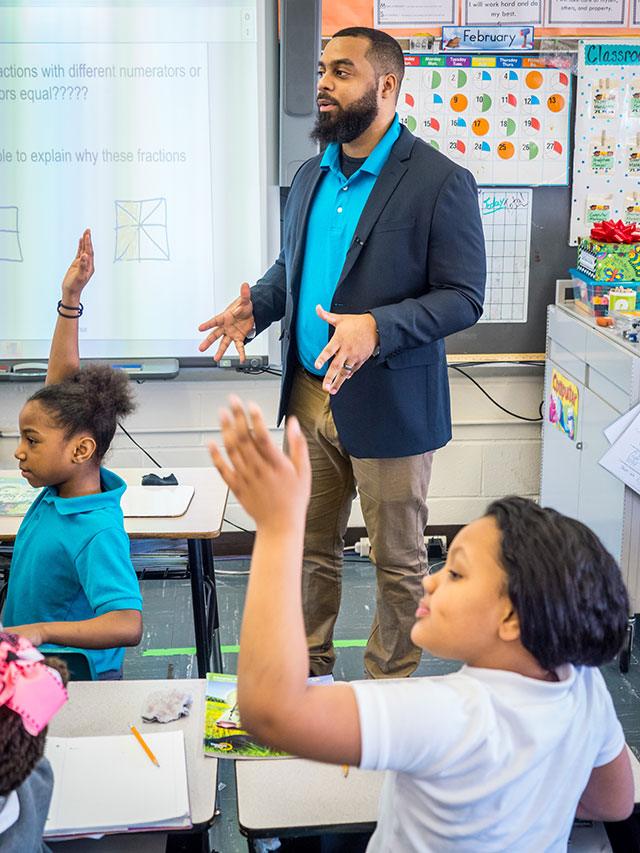 Montclair State is working with Newark Schools to diversify the teacher pipeline