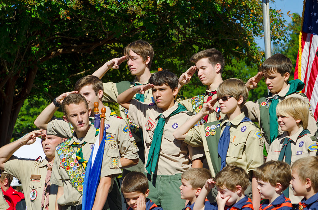 University researchers are studying character building through the Boy Scouts of America.