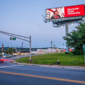 Route 46 Montclair State University billboard