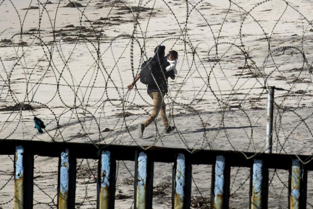 Immigrants seeking refuge.