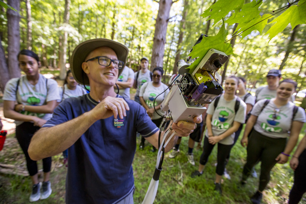 At the New Jersey School of Conservation, Green Teams dig into hands-on lessons in environmental education.