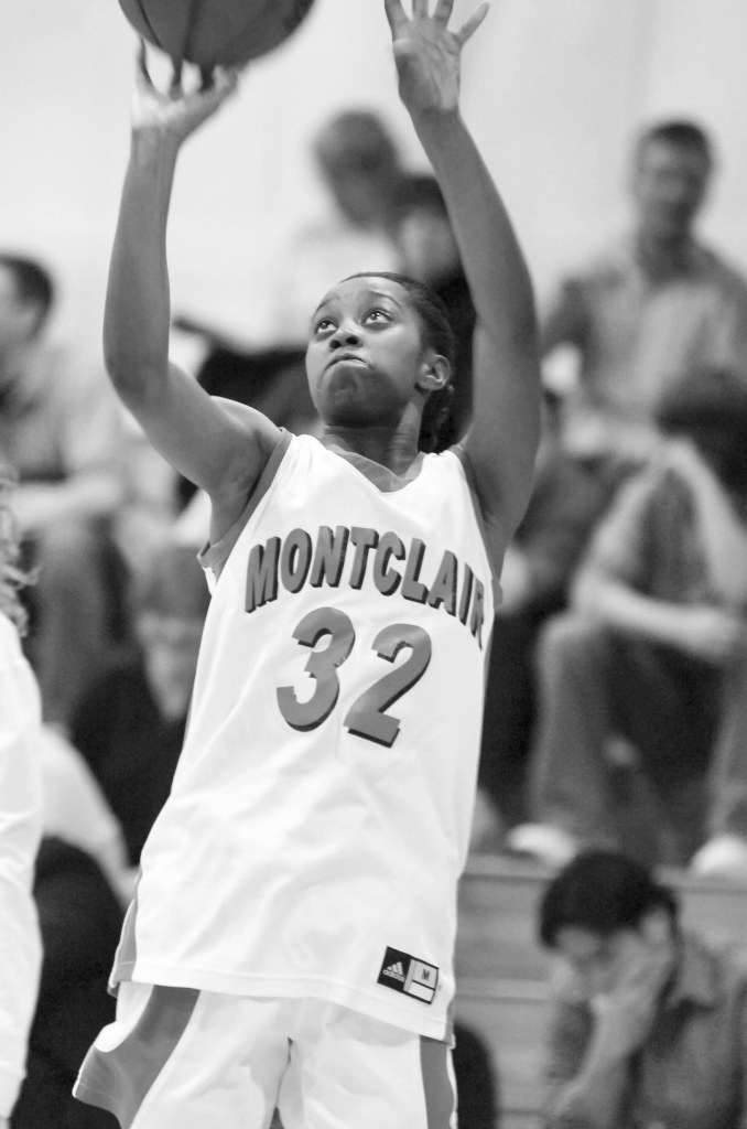 Williams played basketball for the Red Hawks during her years at Montclair State.