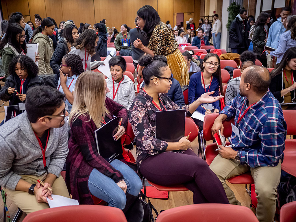 "At a conference hosted by Montclair State for 300 high school students and guidance counselors, ""Inspiring and Motivating a Diverse Teacher Workforce,"" workshops focused on ways to foster diversity and enhance creativity, collaboration and cultural competency."