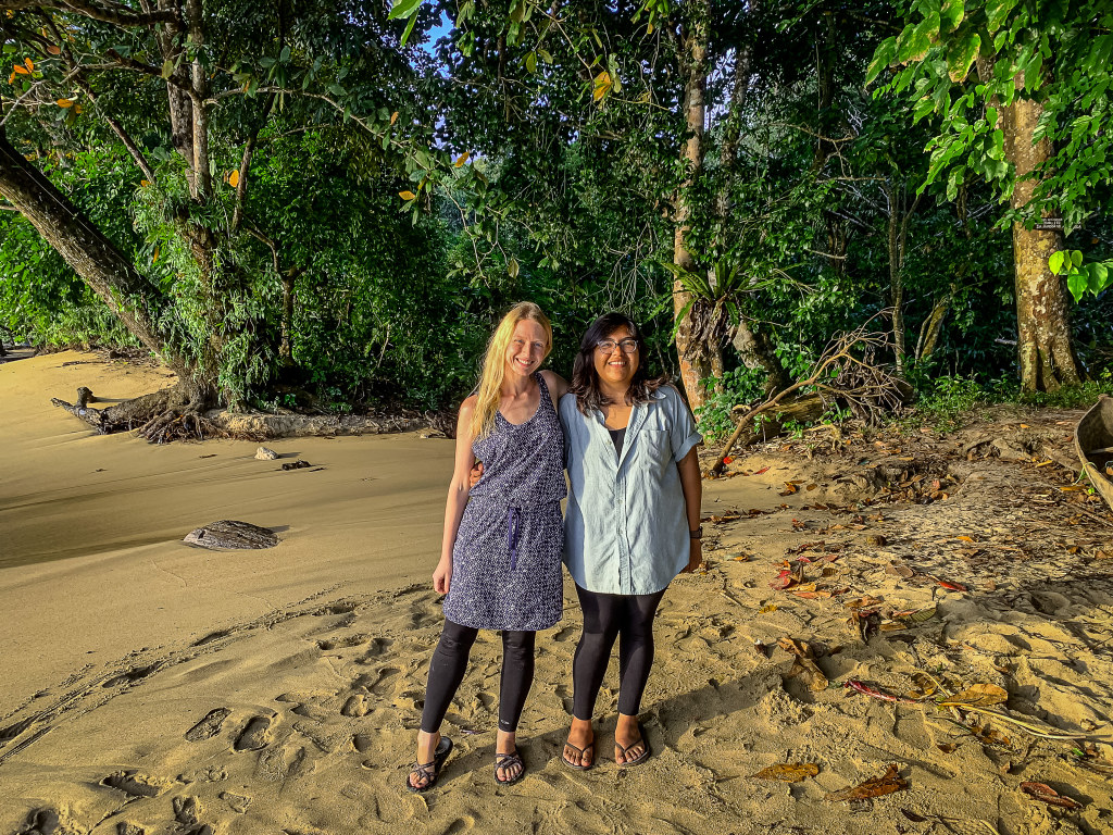 Borgerson with then-undergraduate Patsy Herrera in Madagascar in summer 2019.