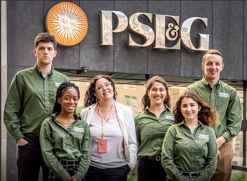 PSEG's Angela Ortiz And the 2019 Green Team