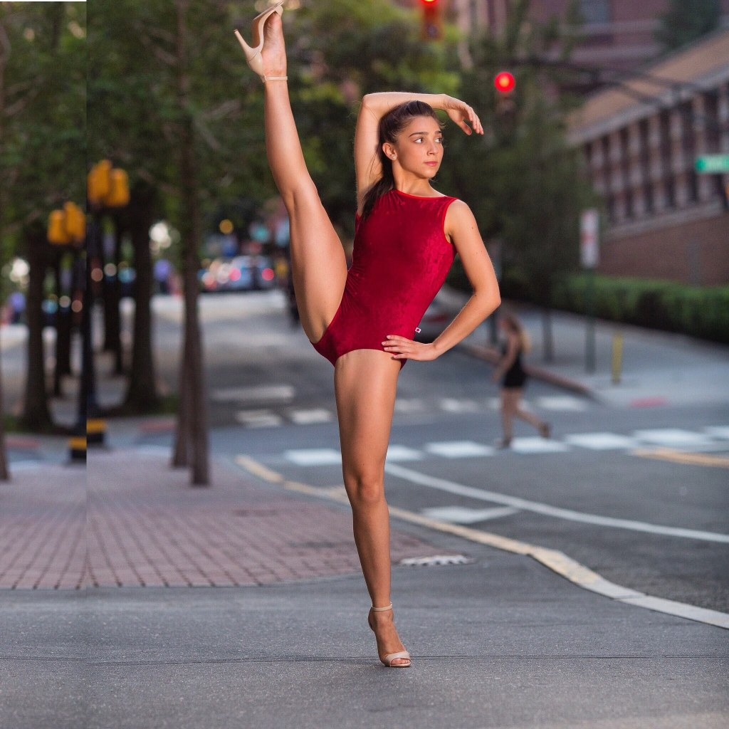"Melody Marti '18, BA Dance and Education, was cast as a dancer for ""America"" and ""Dance at the Gym."""