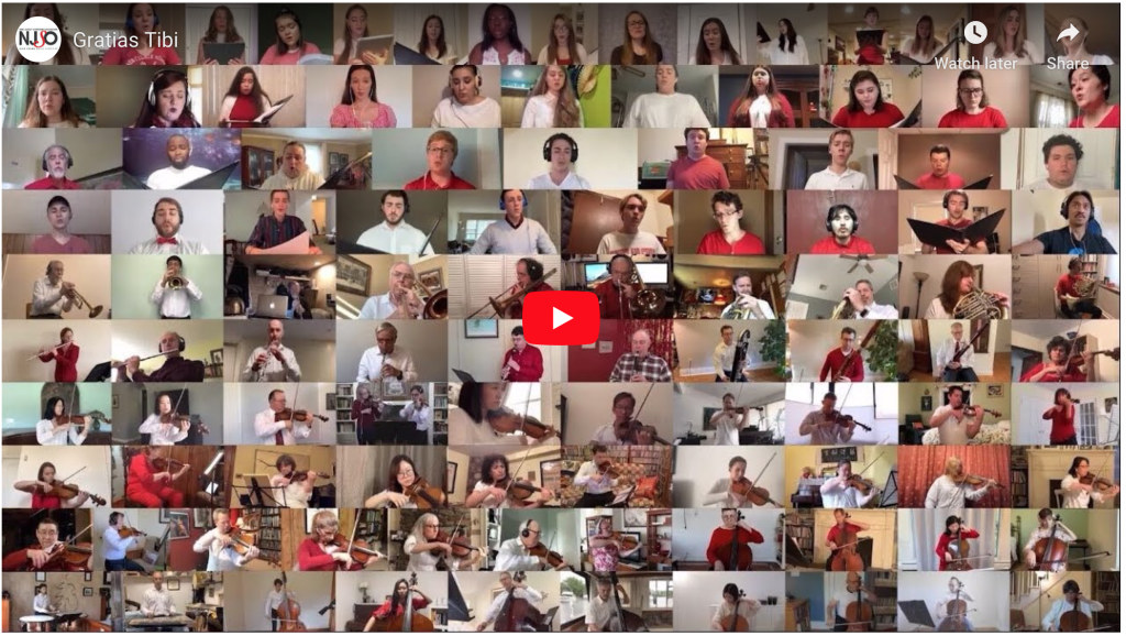 YouTube preview of Gratis Tibi chorus