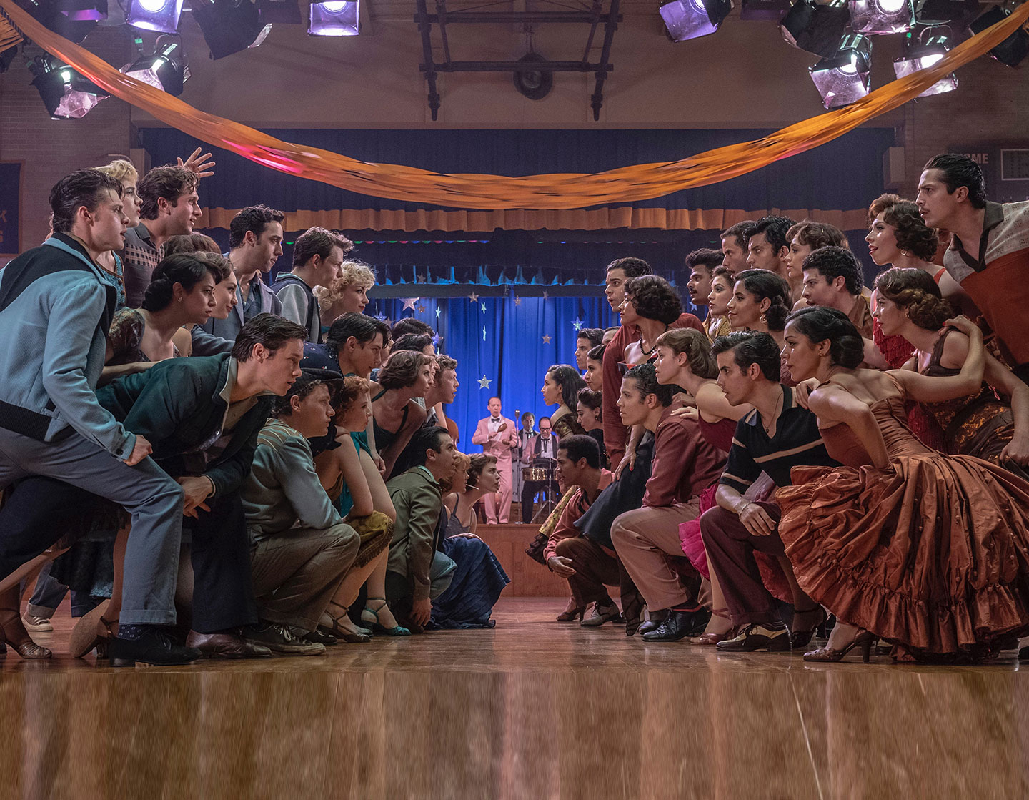 Spielberg's West Side Story premieres December 2021. Photo by Niko Tavernise