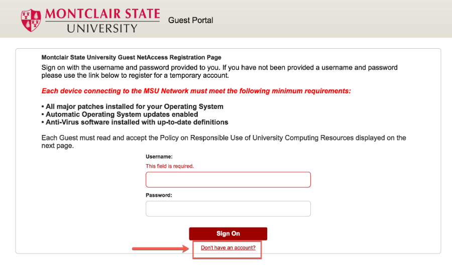 msu guest setup for windows 7 montclair state university