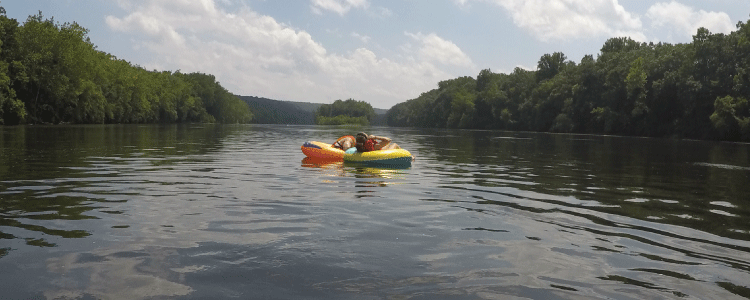Wednesday, July 19: River Tubing Trip