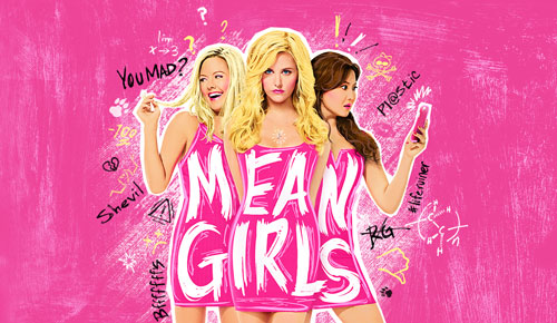 Playbill poster for the Mean Girls.