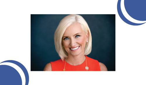 Picture of Facebook VP Carolyn Everson.