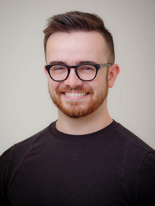 Headshot of Nick Weber.