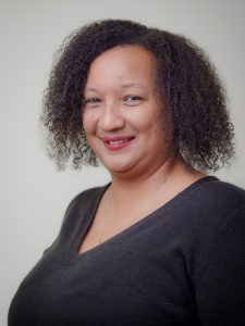 Headshot of Stacy Robinson-McConnell.