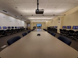 Photo of room 1121 in the ADP Center for Learning Technologies