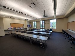 Photo of room 1143 in the ADP Center for Learning Technologies