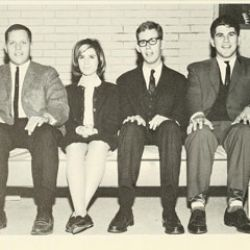 Students from the class of 1966
