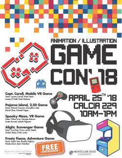 GameCon'18 Promotional Poster