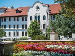 Photo of Chapin Hall, home of the Cali School of Music
